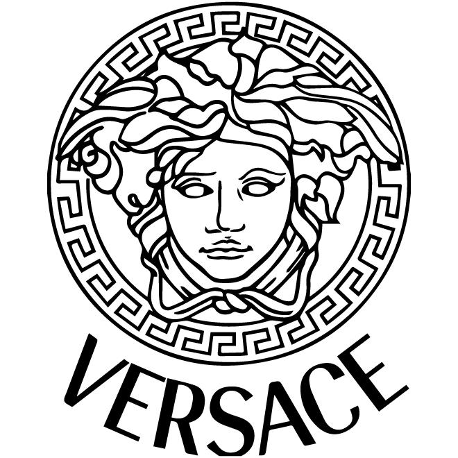 Versace logo history