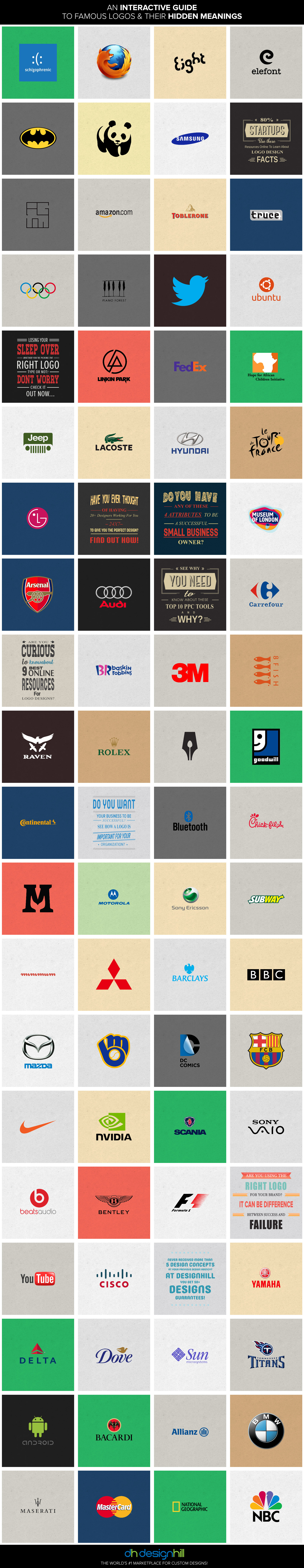 famous company logos with hidden meanings amp messages