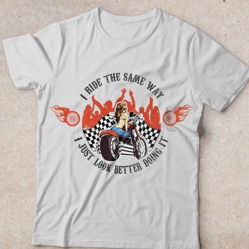 Girl's t-shirt design