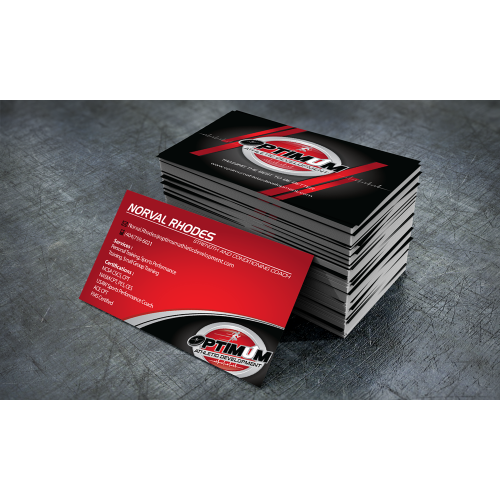 Optimum Athletic Development Business Card