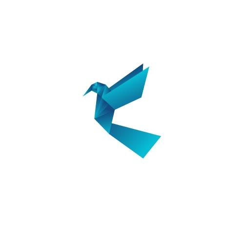 origami_ birds fly