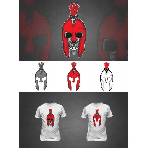 Spartan Skull....
