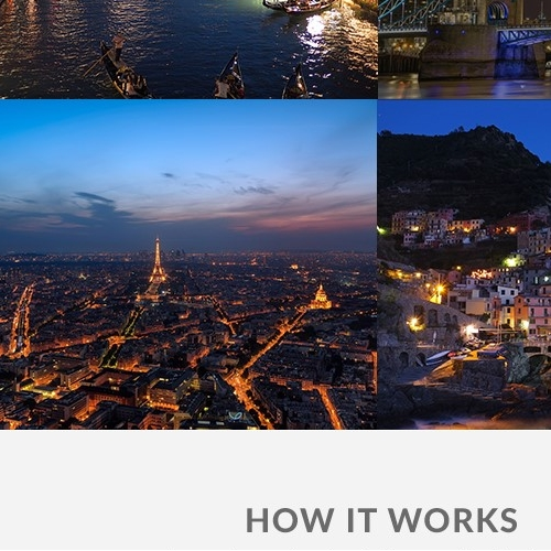 Modern Travel Web Design