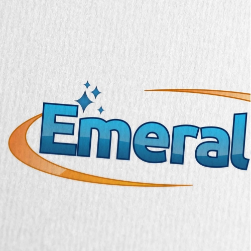 Emerald Cleaning Company Logo