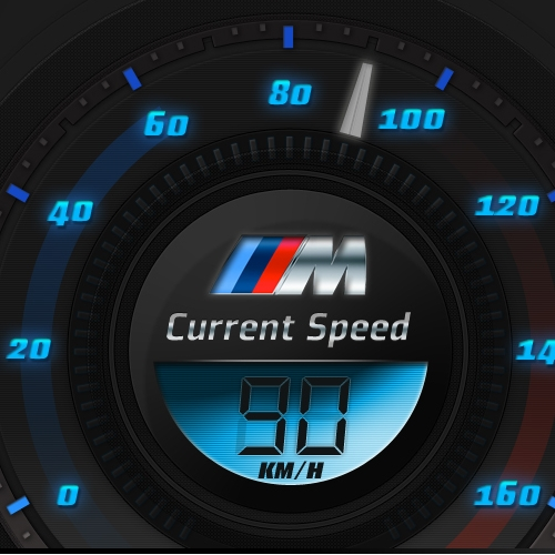 BMW Current Speed • Mobile