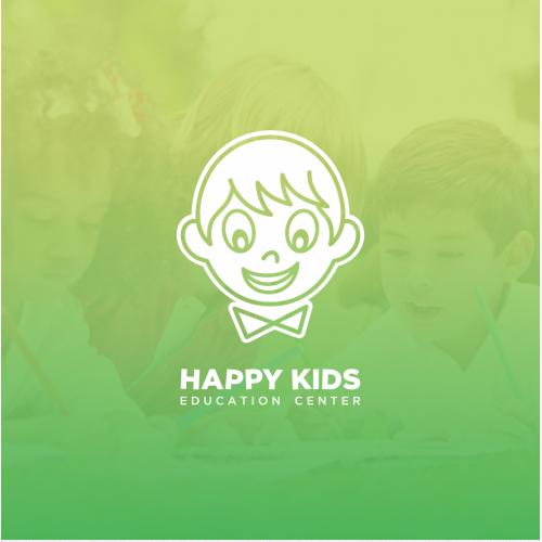 Happy Kids Education Center Logo Design