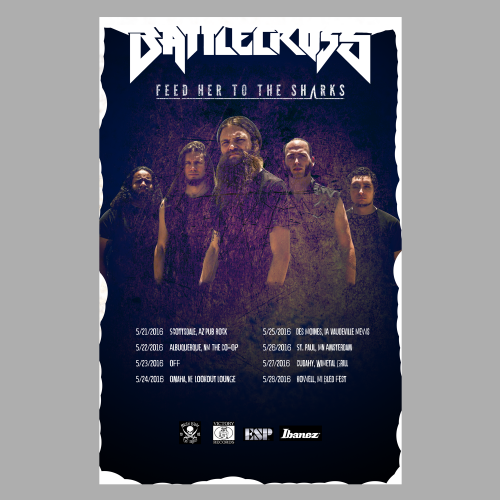 Music Band Poster Official Tour