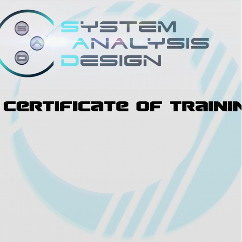 Certificate design for system A.D