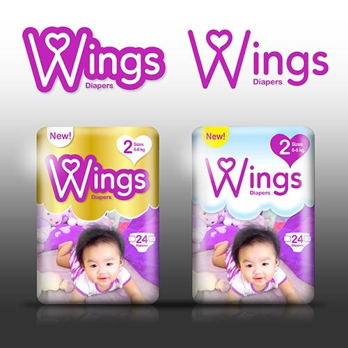 Wings diaper