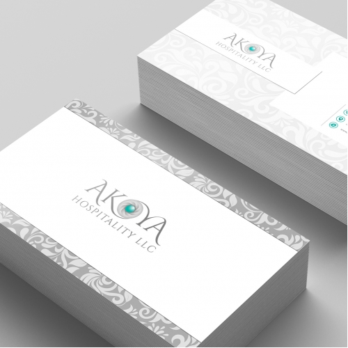 Logo and Visiting Card Design for a hospitality agency