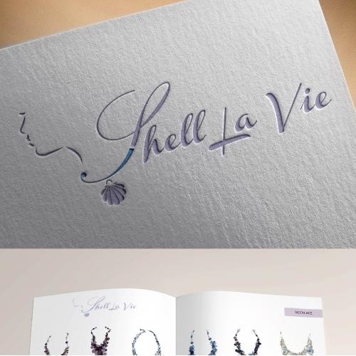 Shell La Vie Logo Design