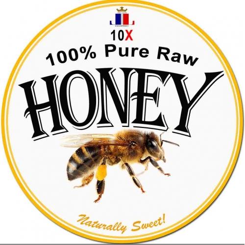 100% Pure Honey Logo