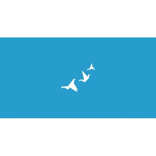 Fly paper birds