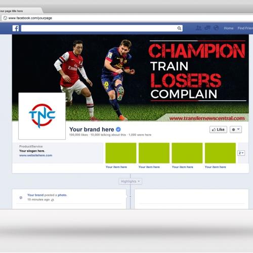 Transfer News Central Facebook Cover