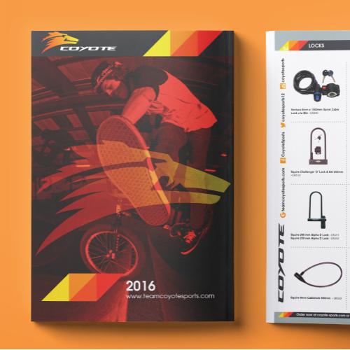 Brochure Design Coyote Sports