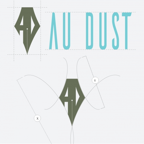AuDust magazine logo