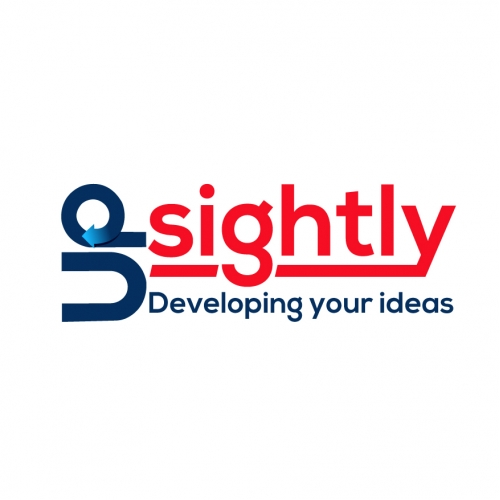 Upsightly Logo Design