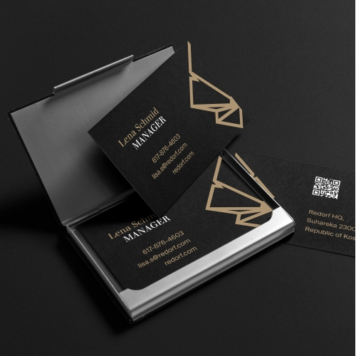 Business Card— Redorf