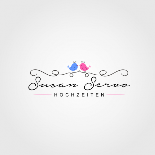 Logo for a wedding planner company