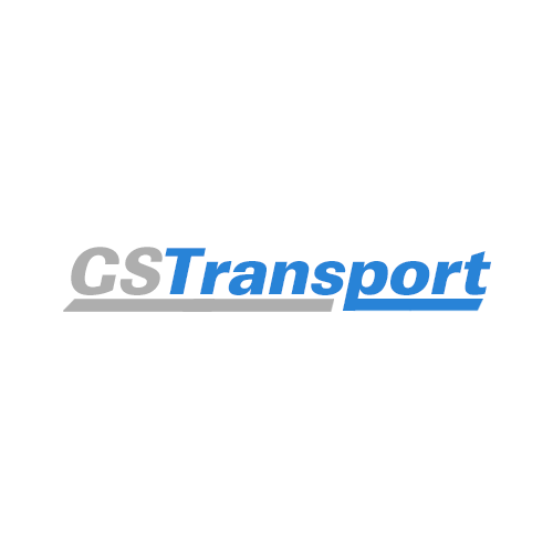 GS Transport Text Logo Design