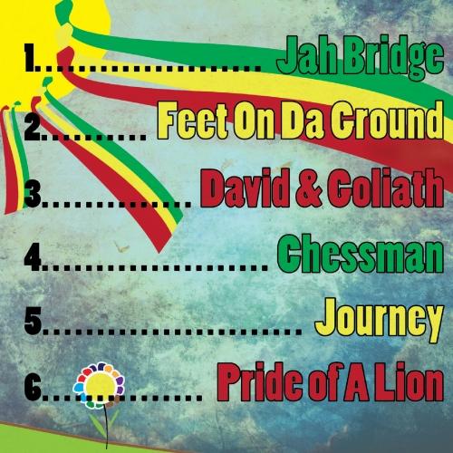LionTeeth - Cover for a Reggae band album
