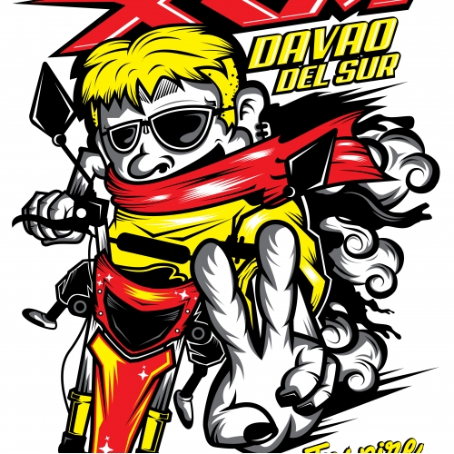 Team XRM DavSur, Tshirt Design