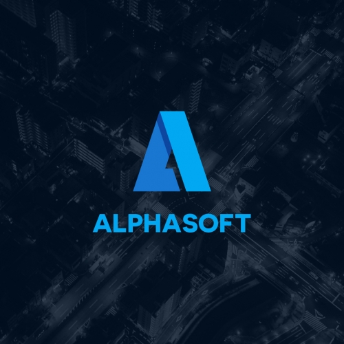 Alpha Soft Logo Design