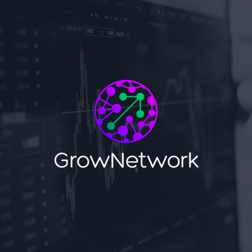 Grow Network Logo Design