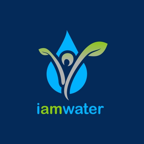 i am water logo