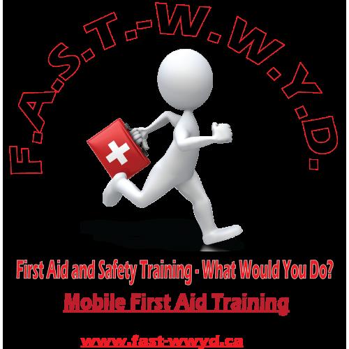 F. A. S. T. - W. W. Y. D. logo (Frist Aid Training)