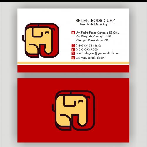 simple bussinescards design