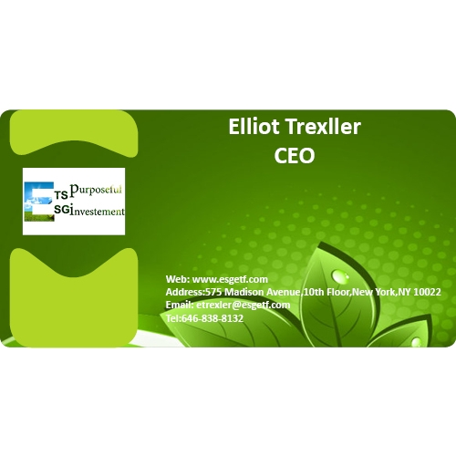 Environent investment business card