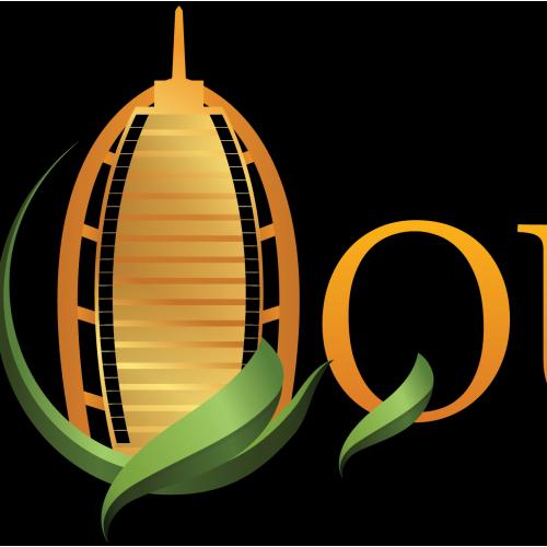Design logo queen land