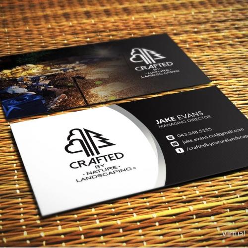 Business Card Design for Landscape company