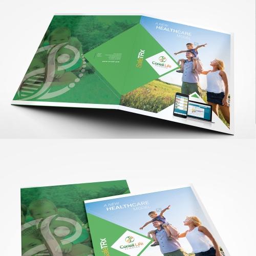 Folder Design Mock-up
