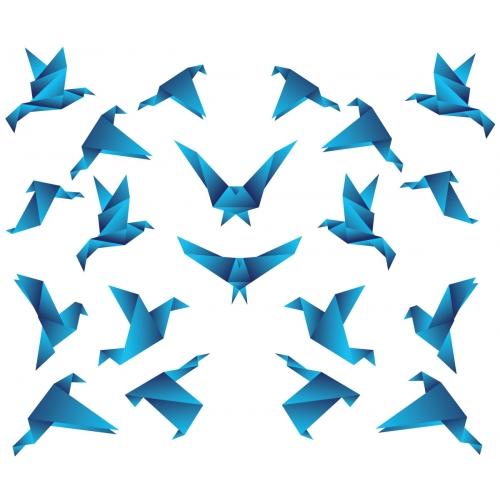 Origami Vector Bird design