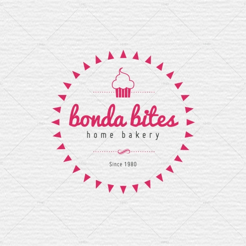 Bonda Bites Logo Design