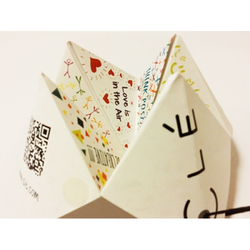 A Paper Fortune Teller | Hang Tag Label Design | Clé