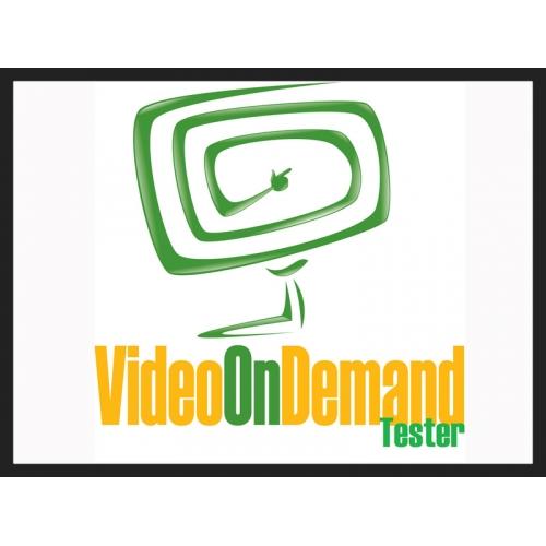 Video on Demand Tester Logo
