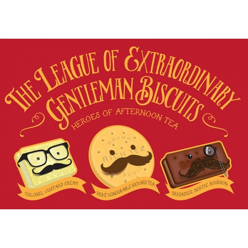 The League of Extraordinary Gentleman Biscuits