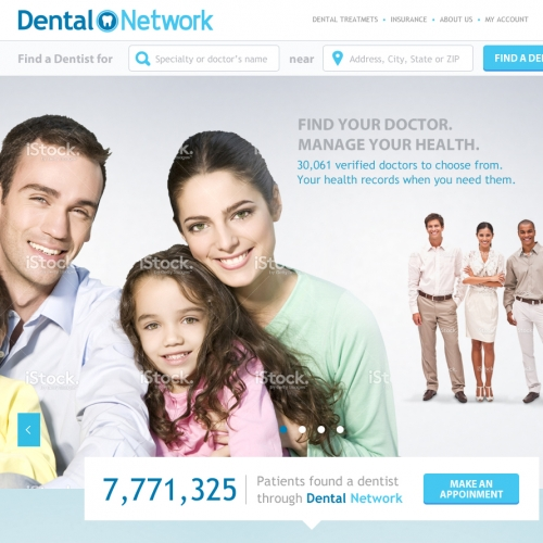 Dental Network website