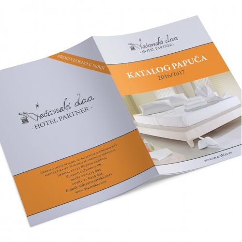 Catalogue for the Vecanski company