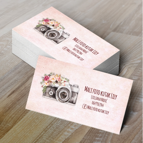 Business Card Design for Photographers