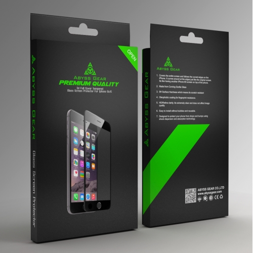Package for Tempered Glass Screen Protector for iPhone