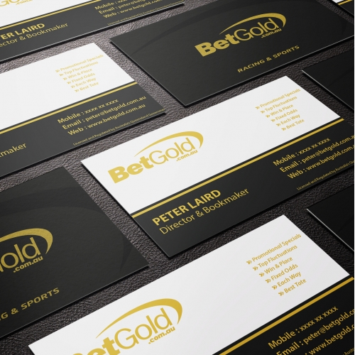 logo - Business Card - Betgold - $490 AUD