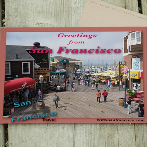 Greetings from San Francisco