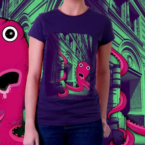 Octopus city attack!