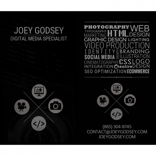 Personal Business Cards (Front
