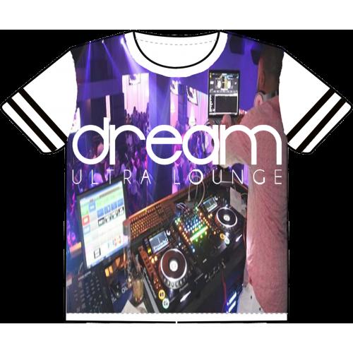 T-shirt design for a night club - dream ultra lounge