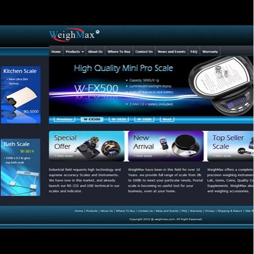 Weighmax website